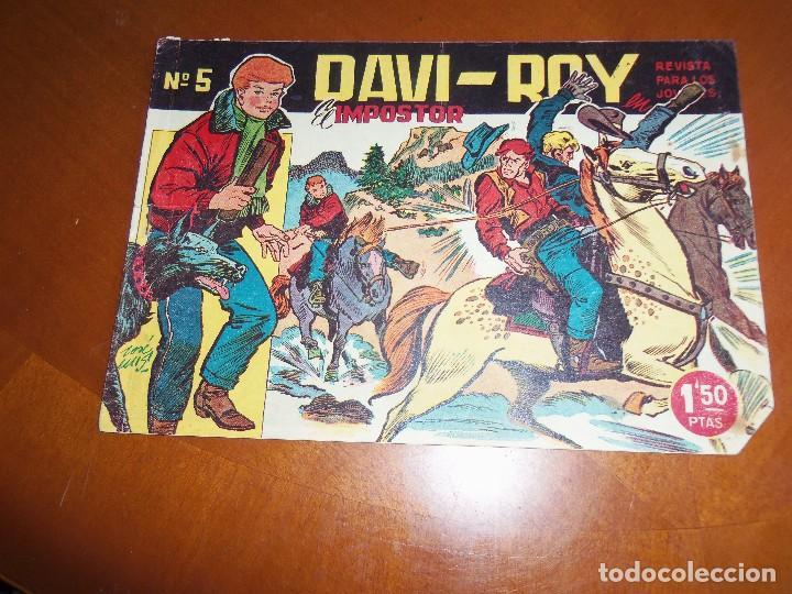DAVI-ROY--Nº 5--ORIGINAL (Tebeos y Comics - Ferma - Otros)