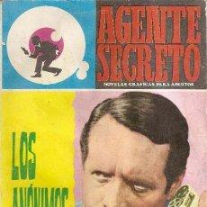 Tebeos: AGENTE SECRETO - Nº 26 - LOS ANÓNIMOS-1966 -CORRECTO-MUY DIFÍCIL-LEAN -8715. Lote 120755447