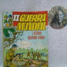 Tebeos: II GUERRA MUNDIAL.FERMA 1967. Nº 2. ¡TODOS QUERÍAN VIVIR!.....CON SEÑALES DE USO.. Lote 120856359