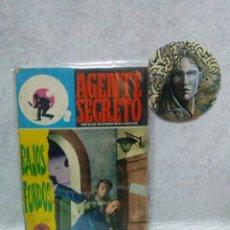 Tebeos: AGENTE SECRETO ( FERMA -1966) Nº 28 : BAJOS FONDOS...BUEN ESTADO.. Lote 120979383