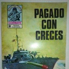 Tebeos: COMBATE- NOVELA GRÁFICA SEMANAL- Nº 175 -PAGADO CON CRECES-MUY DIFÍCIL-BUENO-1979-LEAN-8739. Lote 121075563