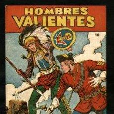 Tebeos: HOMBRES VALIENTES: JESSE JAMES-8 Y DICK DARING-10 (FERMA, 1958). Lote 121076831