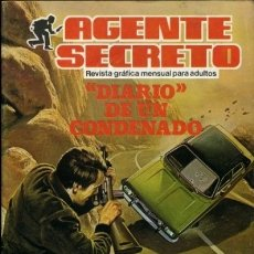 Tebeos: AGENTE SECRETO- Nº 9 - DIARIO DE UN CONDENADO-1982 -APASIONANTE-CORRECTO-DIFÍCIL-LEAN-8744. Lote 121109343