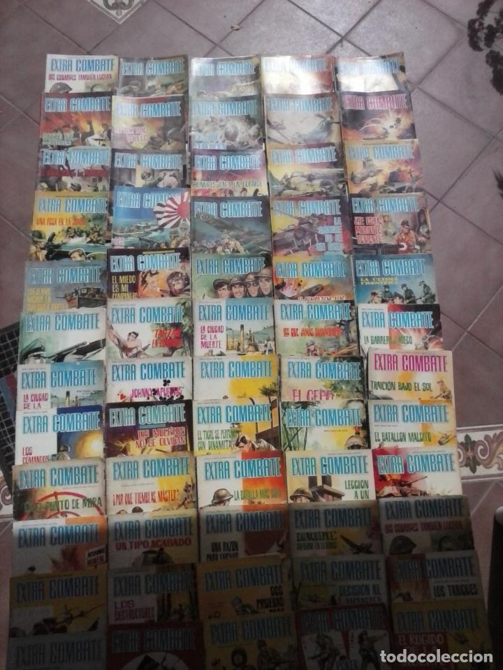 EXTRA COMBATE - LOTE DE 58 NºS FERMA 1965 - 1,3 AL 10,13,15,16,18,19,20,22,23,24,ETC (Tebeos y Comics - Ferma - Combate)