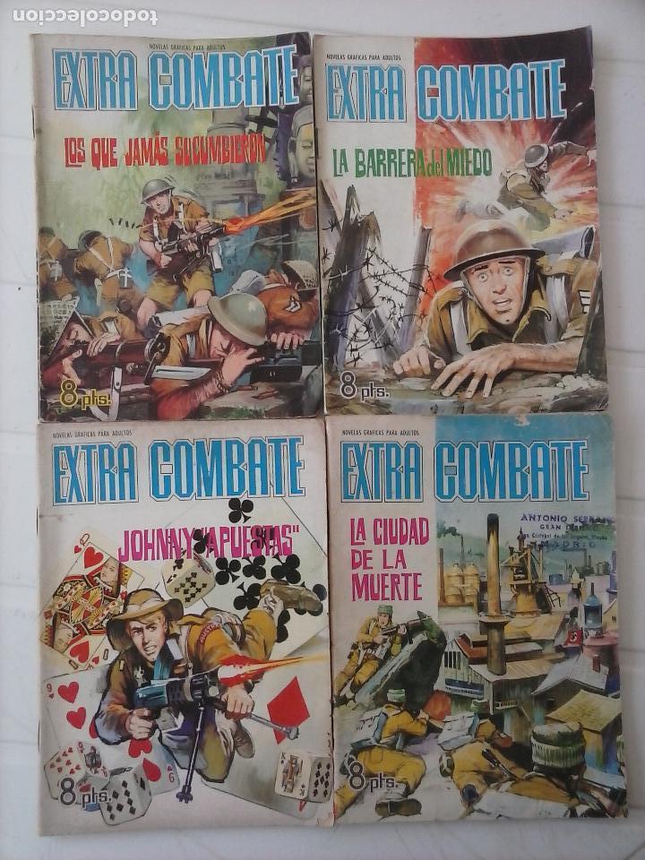 Tebeos: EXTRA COMBATE - LOTE DE 58 NºS FERMA 1965 - 1,3 AL 10,13,15,16,18,19,20,22,23,24,ETC - Foto 13 - 121242407