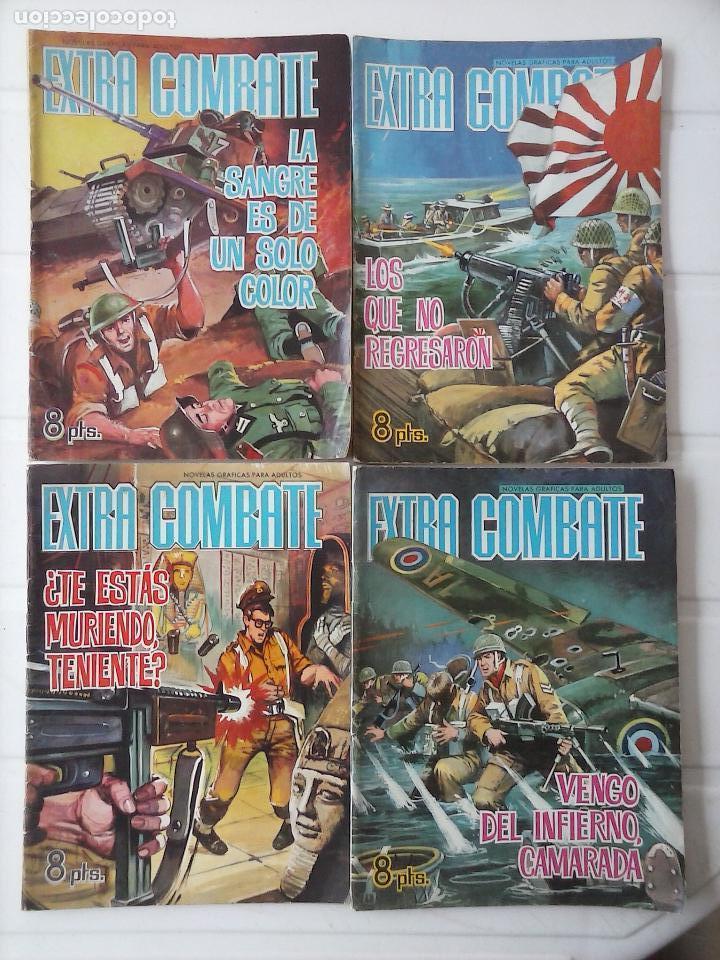 Tebeos: EXTRA COMBATE - LOTE DE 58 NºS FERMA 1965 - 1,3 AL 10,13,15,16,18,19,20,22,23,24,ETC - Foto 16 - 121242407