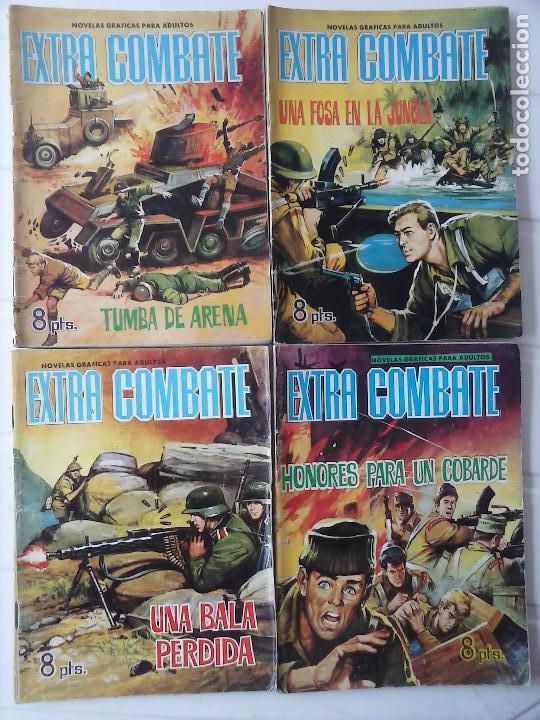 Tebeos: EXTRA COMBATE - LOTE DE 58 NºS FERMA 1965 - 1,3 AL 10,13,15,16,18,19,20,22,23,24,ETC - Foto 17 - 121242407