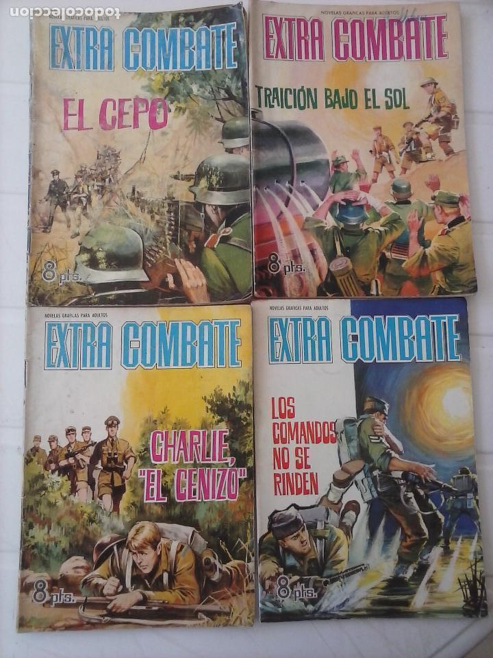 Tebeos: EXTRA COMBATE - LOTE DE 58 NºS FERMA 1965 - 1,3 AL 10,13,15,16,18,19,20,22,23,24,ETC - Foto 21 - 121242407
