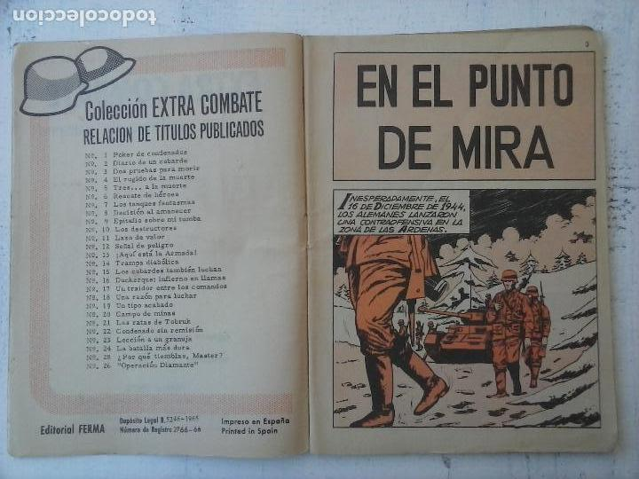 Tebeos: EXTRA COMBATE - LOTE DE 58 NºS FERMA 1965 - 1,3 AL 10,13,15,16,18,19,20,22,23,24,ETC - Foto 26 - 121242407