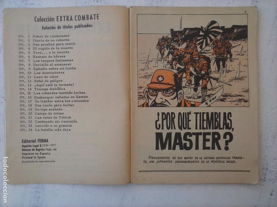 Tebeos: EXTRA COMBATE - LOTE DE 58 NºS FERMA 1965 - 1,3 AL 10,13,15,16,18,19,20,22,23,24,ETC - Foto 28 - 121242407