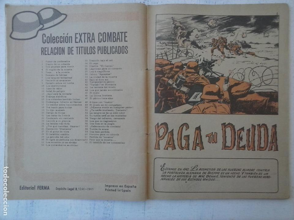 Tebeos: EXTRA COMBATE - LOTE DE 58 NºS FERMA 1965 - 1,3 AL 10,13,15,16,18,19,20,22,23,24,ETC - Foto 30 - 121242407