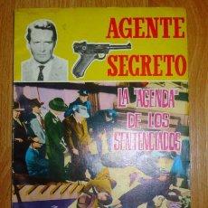 Tebeos: LA AGENDA DE LOS SENTENCIADOS (AGENTE SECRETO ; 16). Lote 121321555