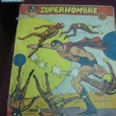 Tebeos: SUPERHOMBRE Nº 7. EL CIELO ENVENENADO. ORIGINAL DE FERMA.. Lote 121424631