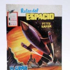 Tebeos: RUTAS DEL ESPACIO 1. EL GRAN ENIGMA (PETER KAPRA) FERMA, 1958. Lote 121976395