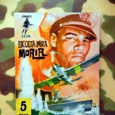 Tebeos: COMBATE EXTRA Nº 11 - EDITORIAL FERMA, ORIGINAL, PRIMERA EDICIÓN, 1962, DIFÍCIL, ESCASO.. Lote 122035987