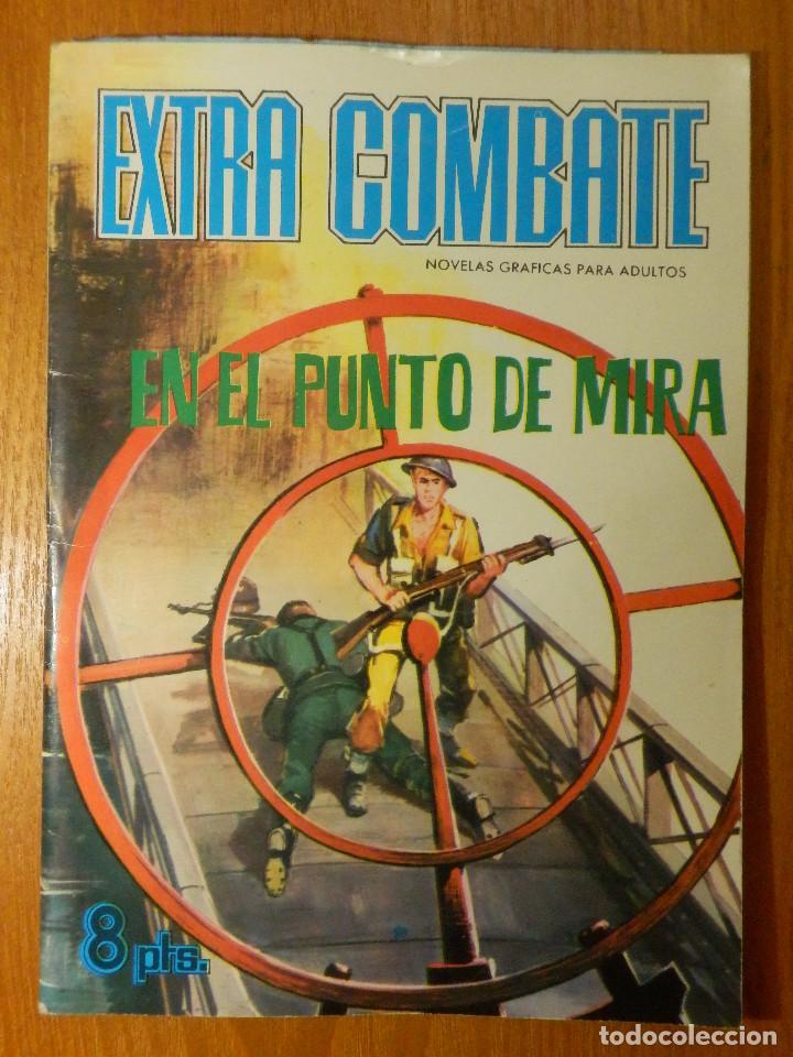COMIC - EXTRA COMBATE - EN EL PUNTO DE MIRA - 27- FERMA - 21 X 15 - 48 PAG. 1966 (Tebeos y Comics - Ferma - Combate)