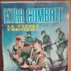 Tebeos: EXTRA COMBATE 46 LA ÚLTIMA FRONTERA (1965). Lote 122127395