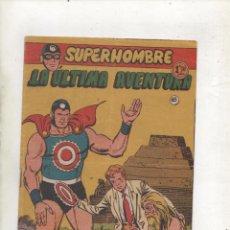 Tebeos: SUPERHOMBRE Nº 68.LA ULTIMA AVENTURA.ULTIMO.FERMA.ORIGINAL.DA. Lote 122176275