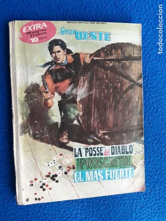 GRAN OESTE EXTRA - LA POSSE DEL DIABLO - ¡PROSCRITO! - EL MAS FUERTE (Tebeos y Comics - Ferma - Gran Oeste)