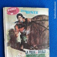 Tebeos: GRAN OESTE EXTRA - LA POSSE DEL DIABLO - ¡PROSCRITO! - EL MAS FUERTE . Lote 122686631
