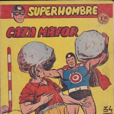 Tebeos: COMIC COLECCION SUPERHOMBRE Nº 34. Lote 122786935