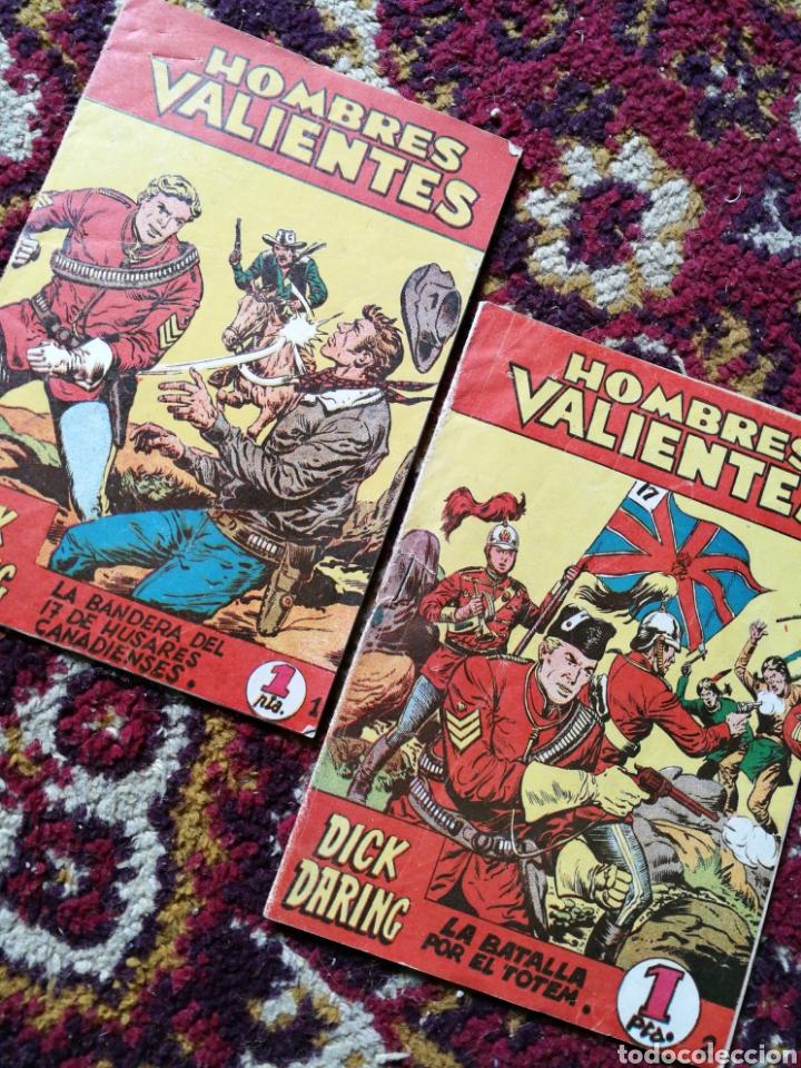 HOMBRES VALIENTES- DICK DARING (SERIE ROJA) N°1 Y2.- COLECCIÓN ILUSTRADA FERMA. (Tebeos y Comics - Ferma - Aventuras Ilustradas)
