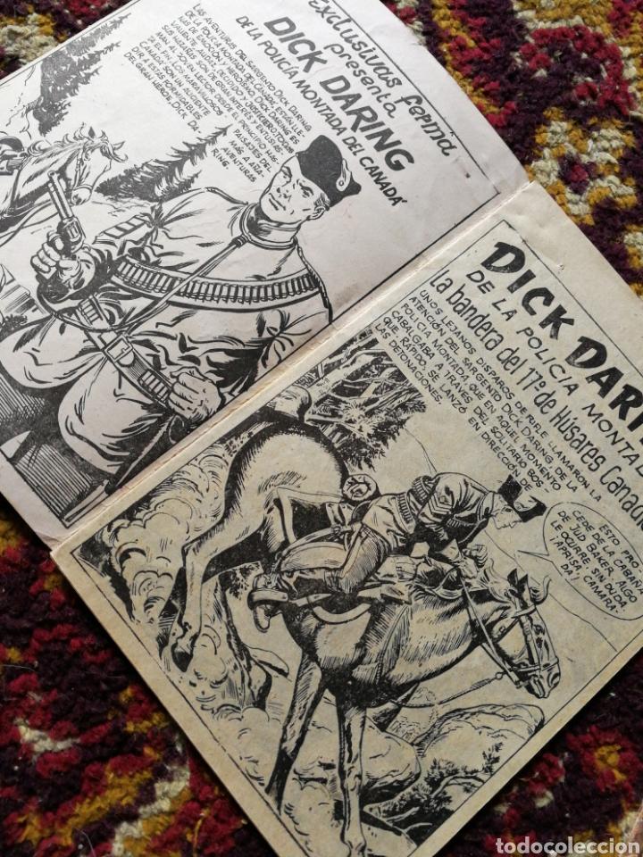 Tebeos: HOMBRES VALIENTES- DICK DARING (SERIE ROJA) N°1 y2.- COLECCIÓN ILUSTRADA FERMA. - Foto 4 - 124211320