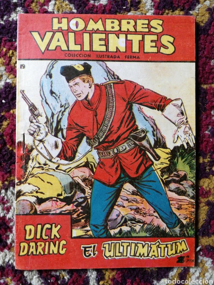 HOMBRES VALIENTES- DICK DARING (SERIE ROJA) N°19.- COLECCIÓN ILUSTRADA FERMA. (Tebeos y Comics - Ferma - Aventuras Ilustradas)