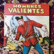 Tebeos: HOMBRES VALIENTES- DICK DARING (SERIE ROJA) N°19.- COLECCIÓN ILUSTRADA FERMA.. Lote 124211583