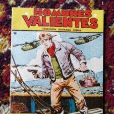 Tebeos: HOMBRES VALIENTES- TOMMY BATALLA (SERIE AMARILLA) N°29.- COLECCIÓN ILUSTRADA FERMA.. Lote 124211854