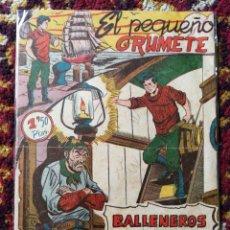 Tebeos: EL PEQUEÑO GRUMETE- BALLENEROS PIRATAS, N°2- EDICIONES FERMA.. Lote 124214267