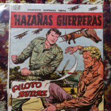 Tebeos: HAZAÑAS GUERRERAS- PILOTO AUDAZ, N°11.- COLECCIÓN ILUSTRADA FERMA.. Lote 124223634