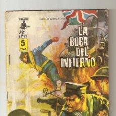 Tebeos: COMBATE EXTRA Nº 6 DE 8 - LA BOCA DEL INFIERNO - FERMA - RELATOS GRÁFICOS DE GUERRA 1963 - 5 PTS. Lote 124454207