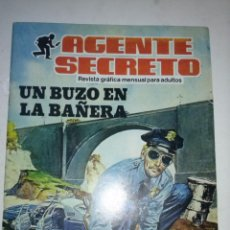 Tebeos: AGENTE SECRETO- Nº 10 -´UN BUZO EN LA BAÑERA`-1982 -FLAMANTE-GRAN ARMANDO SÁNCHEZ-DIFÍCIL-LEAN-8947. Lote 124842655