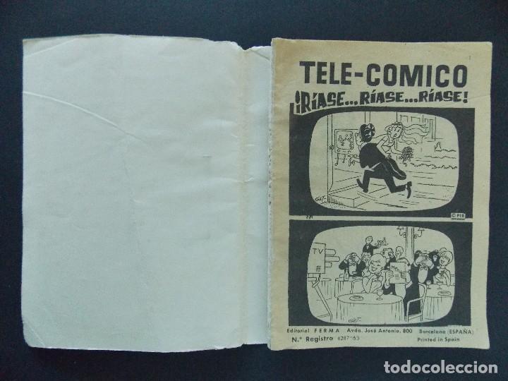 Tebeos: TELE COMICO Nº 2 - EDITORIAL FERMA - 1963 ...R-9757 - Foto 2 - 126011903