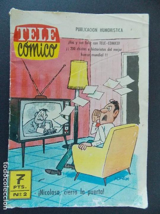 TELE COMICO Nº 2 - EDITORIAL FERMA - 1963 ...R-9757 (Tebeos y Comics - Ferma - Otros)