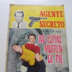 Tebeos: AGENTE SECRETO - LOS ESPIAS MUEREN DE PIE, Nº 14, EDITORIAL FERMA, 1966 CS132. Lote 126555523