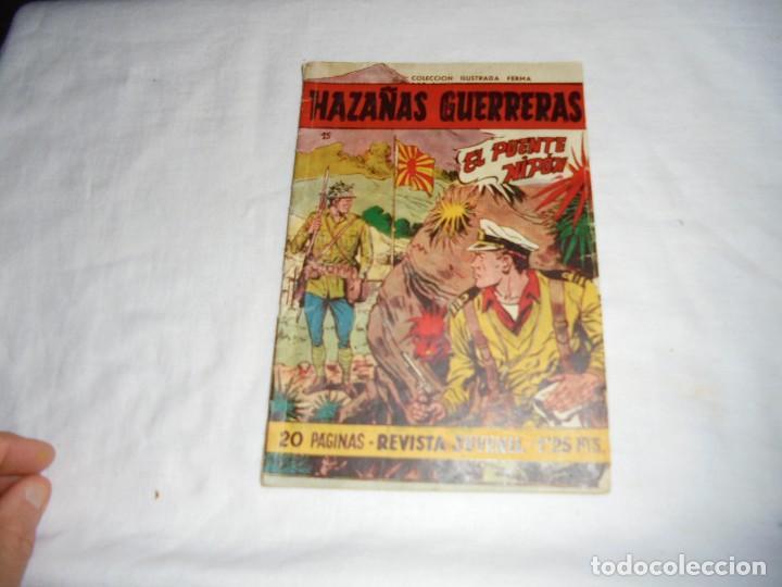 HAZAÑAS GUERRERAS Nº 15.-EL PUENTE NIPON (Tebeos y Comics - Ferma - Otros)