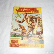Tebeos: HOMBRES VALIENTES.TOMMY BATALLA BUCANEROS BIRMANOS Nº 13 PORTADA ALGO AJADA. Lote 126732891