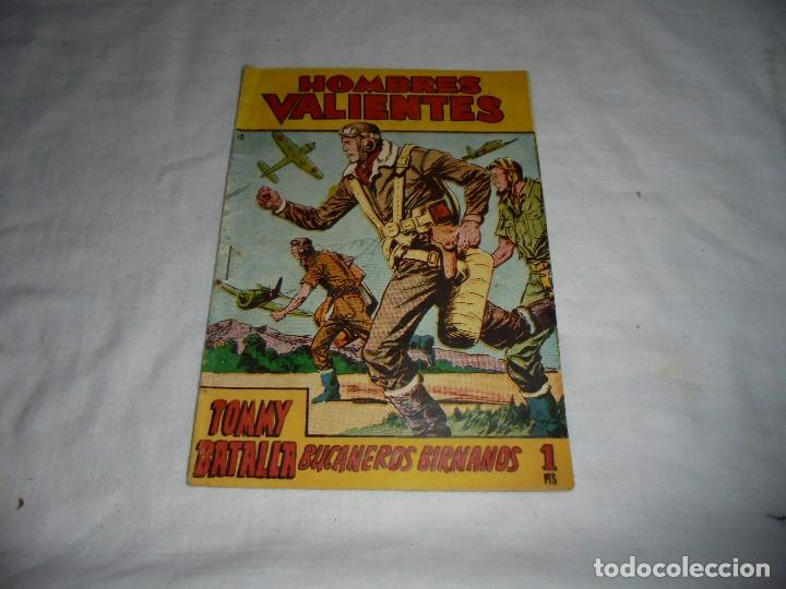 HOMBRES VALIENTES.TOMMY BATALLA BUCANEROS BIRMANOS Nº 13 (Tebeos y Comics - Ferma - Otros)