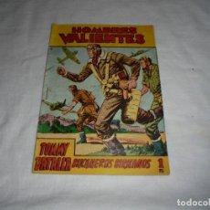 Tebeos: HOMBRES VALIENTES.TOMMY BATALLA BUCANEROS BIRMANOS Nº 13. Lote 126732987