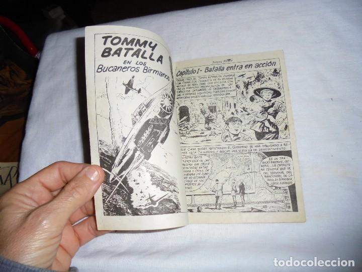 Tebeos: HOMBRES VALIENTES.TOMMY BATALLA BUCANEROS BIRMANOS Nº 13 - Foto 2 - 126732987