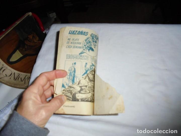 Tebeos: HOMBRES VALIENTES.TOMMY BATALLA BUCANEROS BIRMANOS Nº 13 - Foto 5 - 126732987