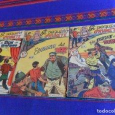 Tebeos: EL PEQUEÑO GRUMETE ORIGINAL 1ª SERIE NºS 4, 15 Y 30. FERMA AÑOS 50. BUEN ESTADO.. Lote 126988551
