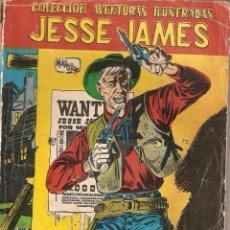 Tebeos: JESSE JAMES, Nº 1. ORIGINAL AÑO 1.958. COLECCIÓN AVENTURAS ILUSTRADAS FERMA.. Lote 127060715