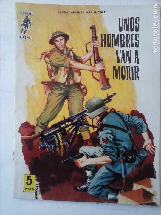 COMBATE EXTRA Nº 1 - EDI. FERMA 1963 FORMATO GRANDE - MUY NUEVO (Tebeos y Comics - Ferma - Combate)
