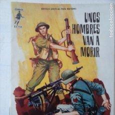 Tebeos: COMBATE EXTRA Nº 1 - EDI. FERMA 1963 FORMATO GRANDE - MUY NUEVO. Lote 127679699