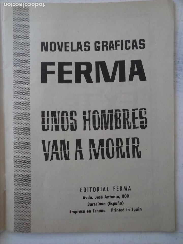 Tebeos: COMBATE EXTRA Nº 1 - EDI. FERMA 1963 FORMATO GRANDE - MUY NUEVO - Foto 3 - 127679699
