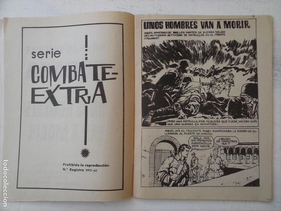 Tebeos: COMBATE EXTRA Nº 1 - EDI. FERMA 1963 FORMATO GRANDE - MUY NUEVO - Foto 4 - 127679699