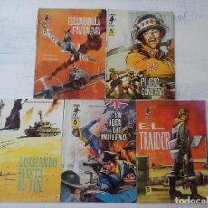 Tebeos: COMBATE EXTRA FERMA 1963 - NºS 3,5,6,7,8 - FORMATO GRANDE - . Lote 127680051
